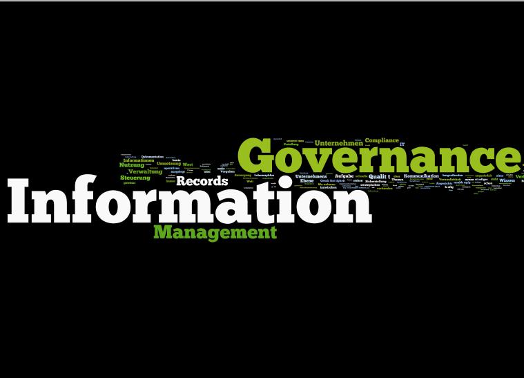 Information Governance:  Nur ein neues Schlagwort?