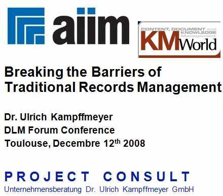 Herausforderungen für das Records Management