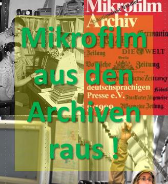 Mikrofilm muss aus den Archiven raus