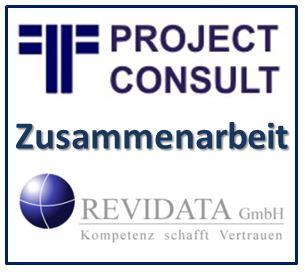 Zusammenarbeit von REVIDATA und PROJECT CONSULT
