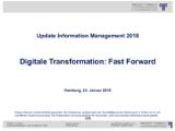 Intro/Begrüßung   Auszug aus Update Information Management 2018
