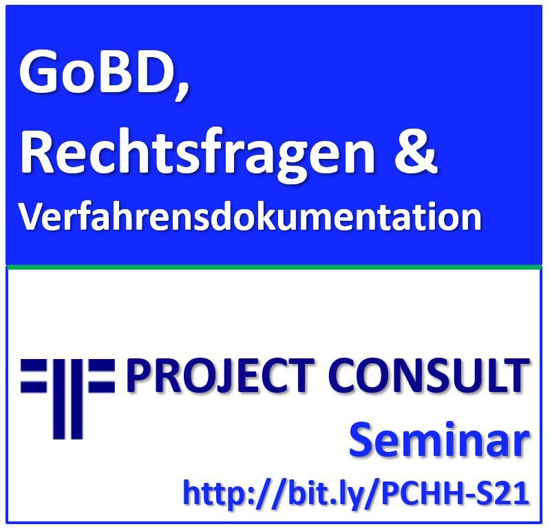GoBD, Aufbewahrung & Verfahrensdokumentation
